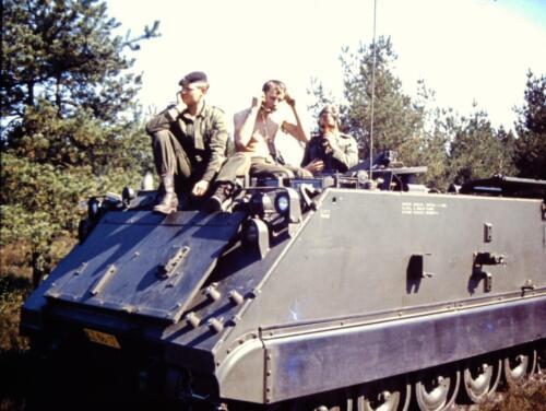 1966 1967 A Esk 103 Verkbat Heel relaxed. Uit het fotoarchief van Jan Stoffels