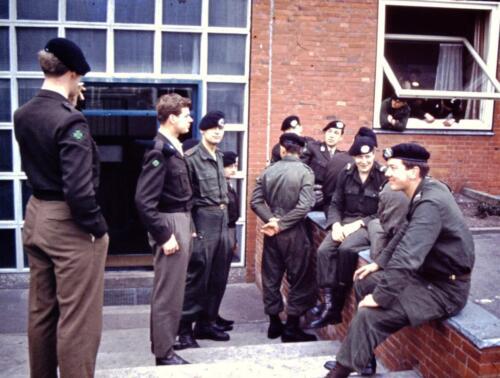 1966 1967 A Esk 103 Verkbat In afwachting... Uit het fotoarchief van Jan Stoffels