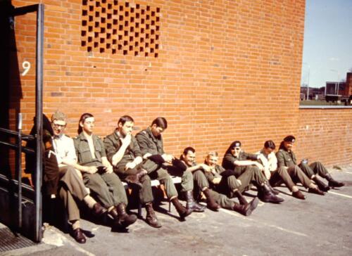 1966 1967 A Esk 103 Verkbat Kaderverplichtingen... Uit het fotoarchief van Jan Stoffels