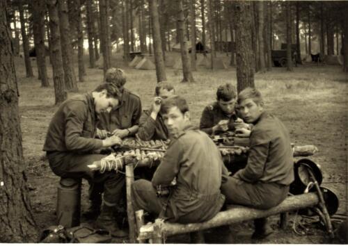 1966 1967 A Esk 103 Verkbat Oefeningen 11