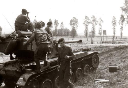 1966 1967 A Esk 103 Verkbat Oefeningen 12
