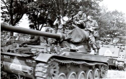 1966 - 1967 A-Esk 103 Verkbat Oefeningen (9)