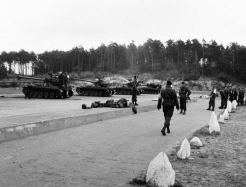 1966 1967 A Esk 103 Verkbat Op de schietbaan. Uit het fotoarchief van Jan Stoffels 1
