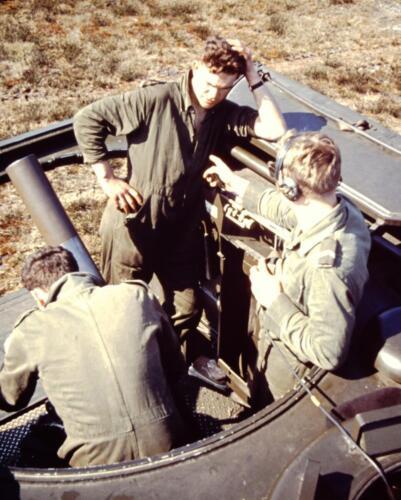 1966 1967 A Esk 103 Verkbat Op de schietbaan. Uit het fotoarchief van Jan Stoffels 6.