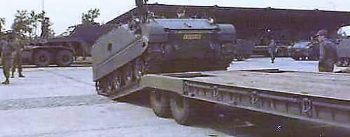 1966 - 1967 A-Esk 103 Verkbat Vertrek voor oefening (5)