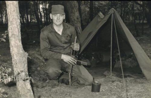 1966 - 1967 A-Esk Eskadron Ritm Kwinten Henri van Rens Bivak Vlasakkers