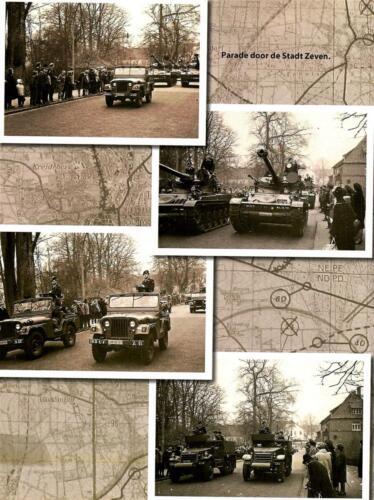 1966 A Esk 103 Eskadron Kwinten HAG Nix Brunschot Parade in Zeven.  scaled