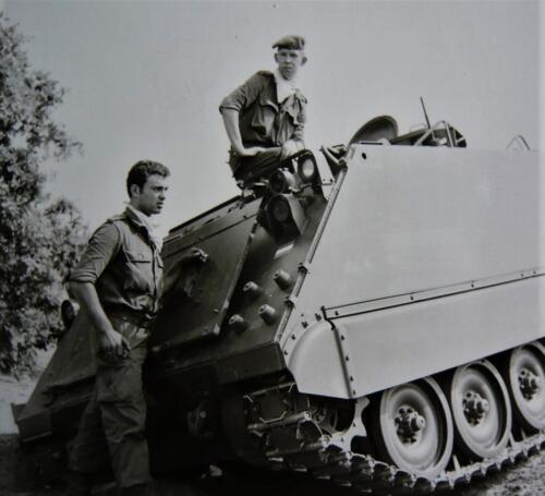 1966 A Esk 103 Verkbat Opleiding Vlasakkers Afoort Inz. Kpl I TS lichting 66 6 Eugene Swarts 2