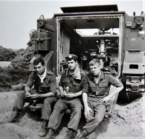 1966 A Esk 103 Verkbat Opleiding Vlasakkers Afoort Inz. Kpl I TS lichting 66 6 Eugene Swarts 3