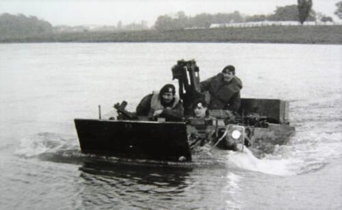 1966 A Esk 103 Verkbat Opleiding vaaroefening Inz. Kpl I TS ichting 66 6 Eugene Swarts