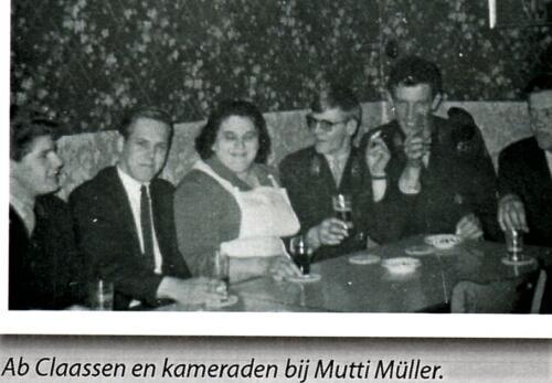 1966 Reeks Mutti Muller stamkroeg van velen in Seedorf A Esk 1
