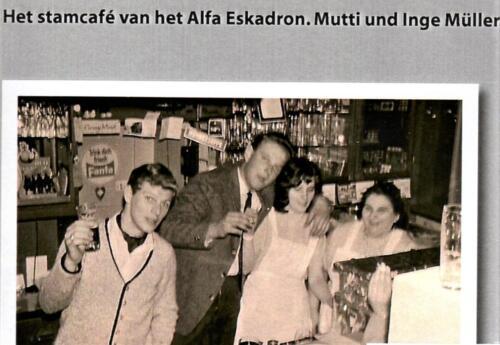1966 Reeks Mutti Muller stamkroeg van velen in Seedorf A Esk 2