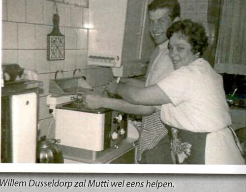 1966 Reeks Mutti Muller stamkroeg van velen in Seedorf A Esk 3