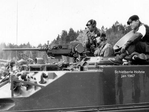 1967-01 103 Verkbat; Schietserie Hohne Mitrailleur .50 Schietinstr. Elnt Meeder