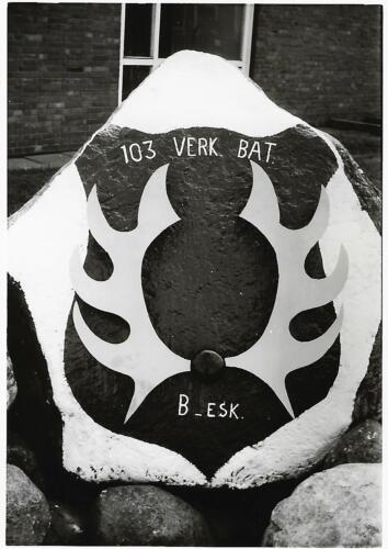 1967 02 B esk 103 Verkbat li 66 5 De steen van het B Esk Inz. Harrij C. Cannoo