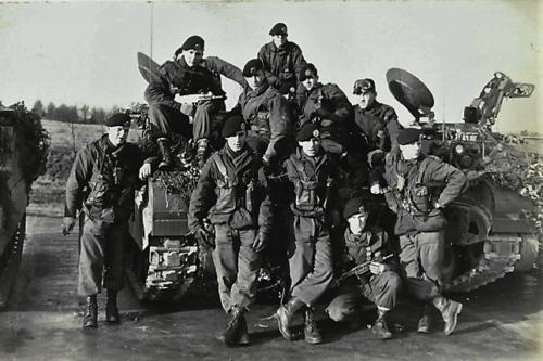1967 06 B esk 103 Verkbat li 66 5 Groepsfoto. Inz. Harrij C. Cannoo