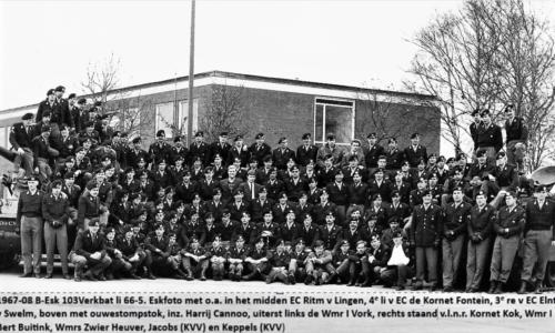 1967 08 B esk 103 Verkbat o.a. Ritm v Lingen Knt Fontein Elnt v Swelm. Kornet Kok is Tlnt Arnold Kriesch