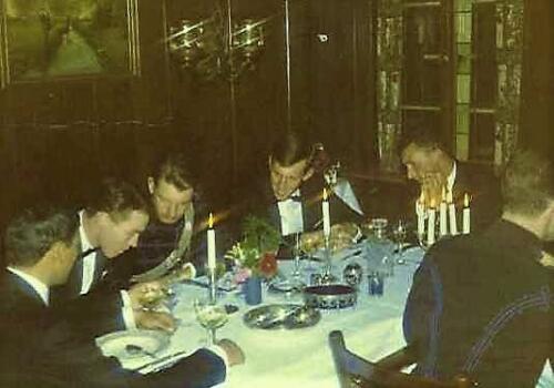 1967 09 A Esk 103 Verkbat Afscheidsdiner Ritm Ties Kwinten en tlnt Renie Meeder