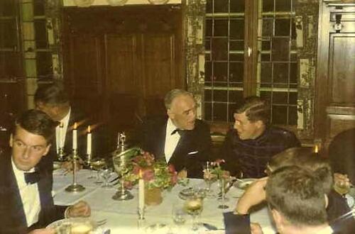 1967 12 A Esk 103 Verkbat Afscheidsdiner BC Lkol Bos