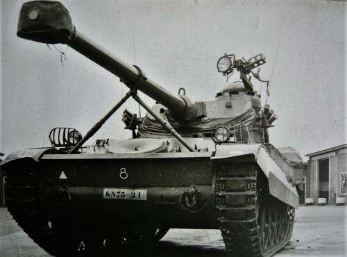 1967 1968 A Esk 103 Verkbat De Franse AMX was toch een mooi stukje techniek Inz. Kpl I TS li 66 6 Eugene Swarts 1