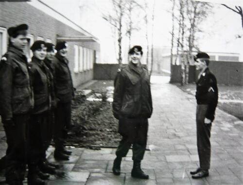 1967 1968 A Esk 103 Verkbat De generaalssuite onderkomen van o.a. inz. Kpl I TS li 66 6 Eugene Swarts