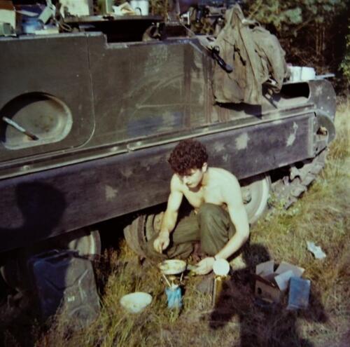 1967 1968 A Esk 103 Verkbat Oefening. Inz. Kpl I TS lichting 66 6 Eugene Swarts 1