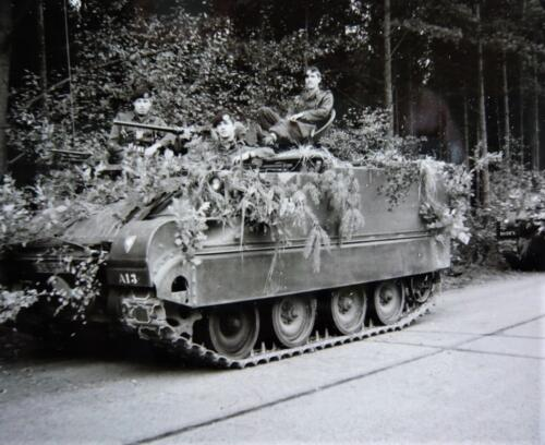 1967 1968 A Esk 103 Verkbat Oefening. Inz. Kpl I TS lichting 66 6 Eugene Swarts 4