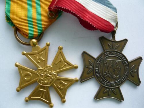 1967 1968 A Esk 103 Verkbat Vierdaagse toelichting medailles Inz. Kpl I TS Eugene Swarts 2