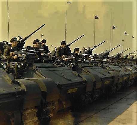 1967 A-Esk 103 Verkbat Beëdigingsparade voor Tlt Frits Deiters (3)