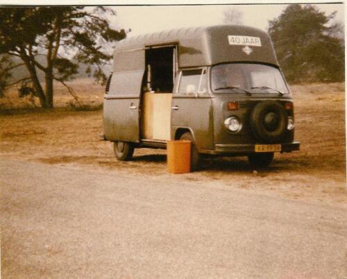 1967 Cadiwagen Leusderheide Ruud Aalbers en statiegeld.