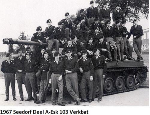 1967 Deel A Esk 1e Pel 103 Verkbat