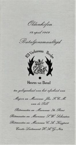 1969 04 12 103 Verkbat Afscheidsdiner in Oldenhofen.