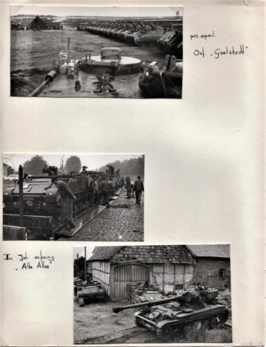 1969-09 B-Esk 103 Verkbat; Oef 'Horizon' Hessisch Oldendorf. Knt Maas 2e foto Fotoboek van de Elnt R. Meeder