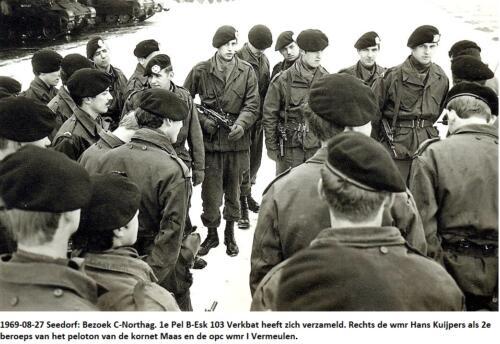 1969 08 27 B Esk 1e Pel 103 Verkbat Bezoek C Northag