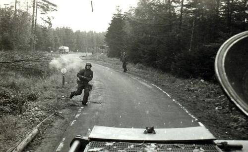 1969 09 B Esk 103 Verkbat Oefening Horizon Het luchtmacht bew. korps achtervolgd de CR