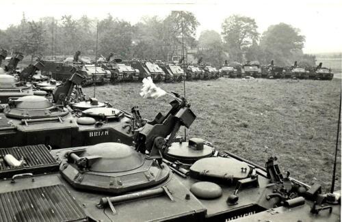 1969 09 B Esk 103 Verkbat Oefening Horizon bij Hessisch Oldendorf.
