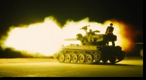1969 10 Schietserie 69 2 AMX 13 in actie