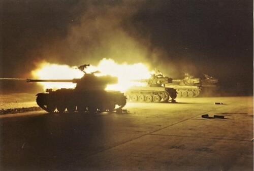 1969 10 Schietserie 69 2 AMX 13 in actie 2