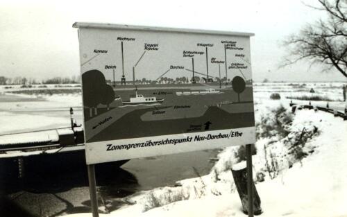 1969 11 25 B Esk 103 Verkbat Bezoek aan de toenmalige Oostgrens van Duitsland. 1
