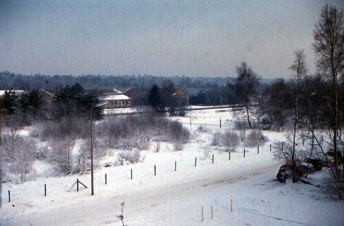 1969 11 25 B Esk 103 Verkbat Bezoek aan de toenmalige Oostgrens van Duitsland. 2