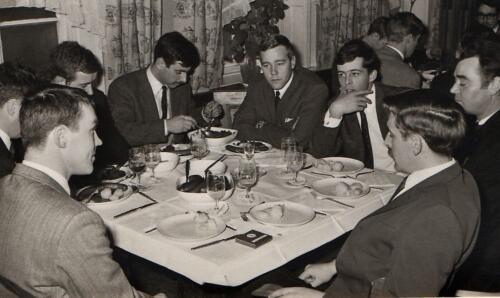 1969-11-25 B-Esk 103 Verkbat; Bezoek aan IDG. Ritm Eleveld, Owi Dekker, kntn Maas en de Groot