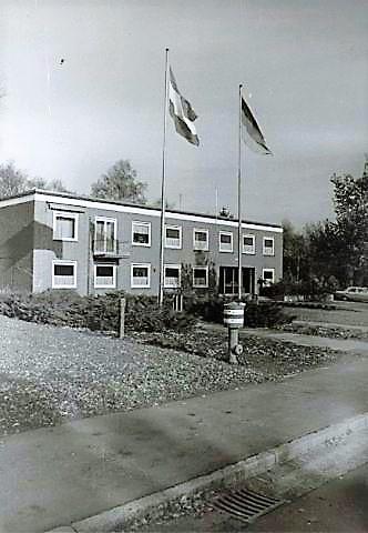 1969 Legerplaats Seedorf Zuiderpoort en het Stafgebouw 41 Pabrig 2