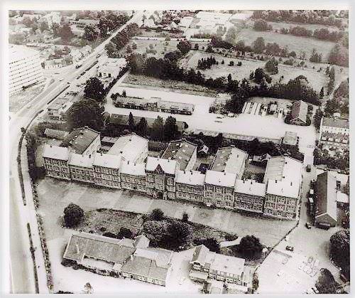 1969 Luchtopname Willem III kazerne Amersfoort