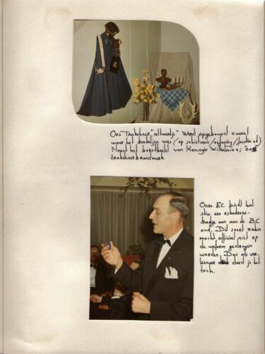 1969 103 Verkbat; BC Lkol v Splunter krijgt B-Esk badge, tja. Uit het fotoboek van de Elnt R Meeder