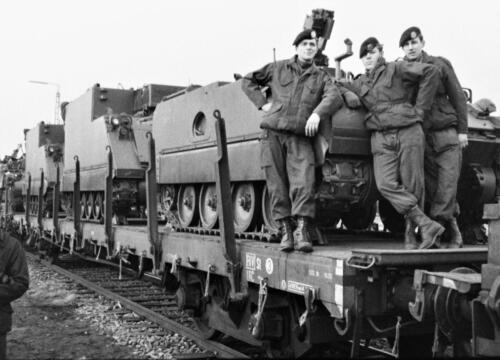 1966-1967 A-Esk 103 Verkbat; Trein laden of ontladen. Uit het fotoarchief van Jan Stoffels  (1)