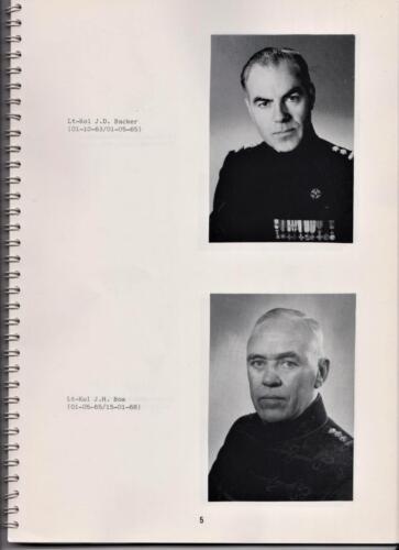 1986 'Contact, wacht uit'... Kroniek van 25 jaar 103 Verkenningsbataljon 5