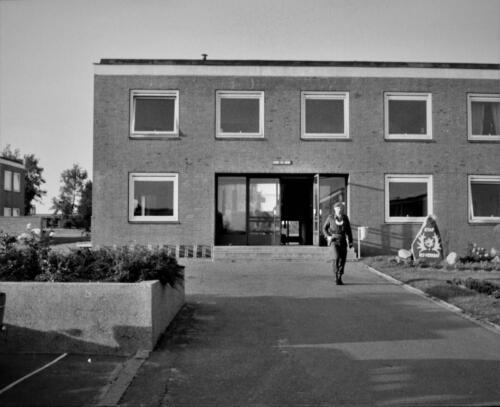 1966-1967 A-Esk 103 Verkbat; De OKP met metalen borstschild. Uit het fotoarchief van Jan Stoffels  (23)