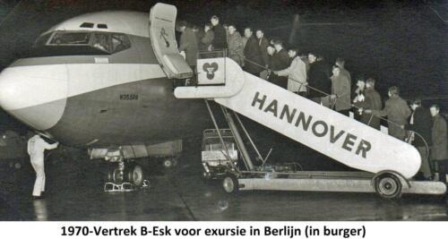 1970-01 B-Esk 103 Verbat bezoekt Berlijn. Uit het fotoboek van de Elnt R. Meeder