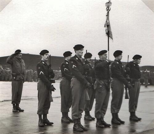 1970 03 01 103 Verkbat C St wacht Elnt Meeder Wmr I de Graaf Parade c Maj Gramberg