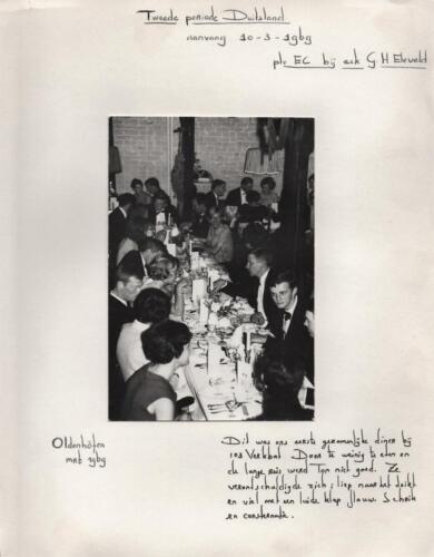 1970 03 10 B Esk 103 Diner Oldenhoven Uit het fotoboek van de Elnt RRRE Meeder